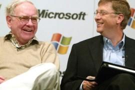 """ماذا تعلم """"بيل غايتس"""" من عملاق الاستثمار """"وارين بافيت"""" ؟"""