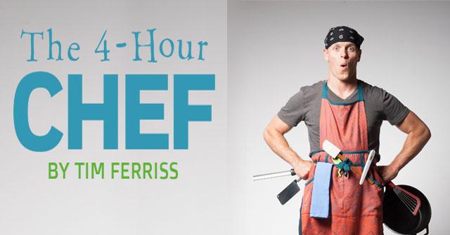 """تيم فاريس صاحب كتاب  """"The Four Hour Chef"""""""