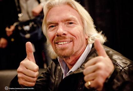 """كن طموحا وناجحا .... من نصائح الملياردير الشهير """"ريتشارد برانسون"""""""