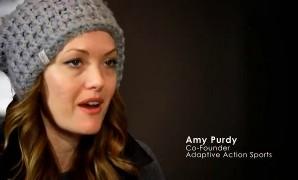 """قصة نجاح """"ايمي بوردي"""" من الاعاقة الى بطلة عالم في التزلج على الجليد"""