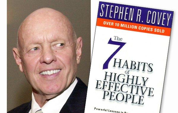 كتاب العادات السبع لأشخاص اكثر فاعلية لستيفن كوفي
